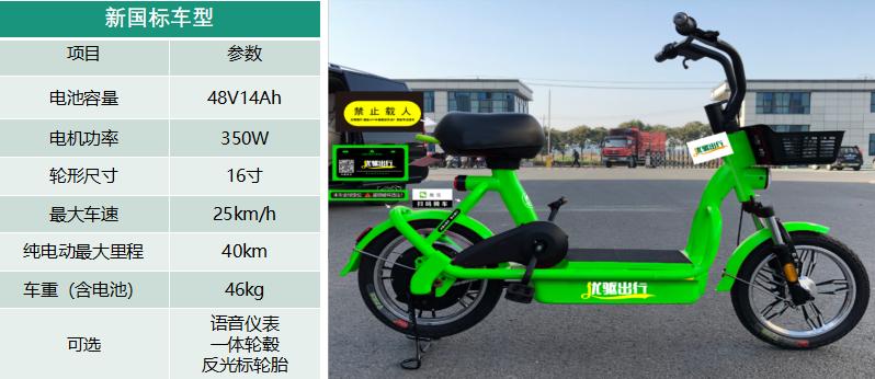 优驱共享电单车